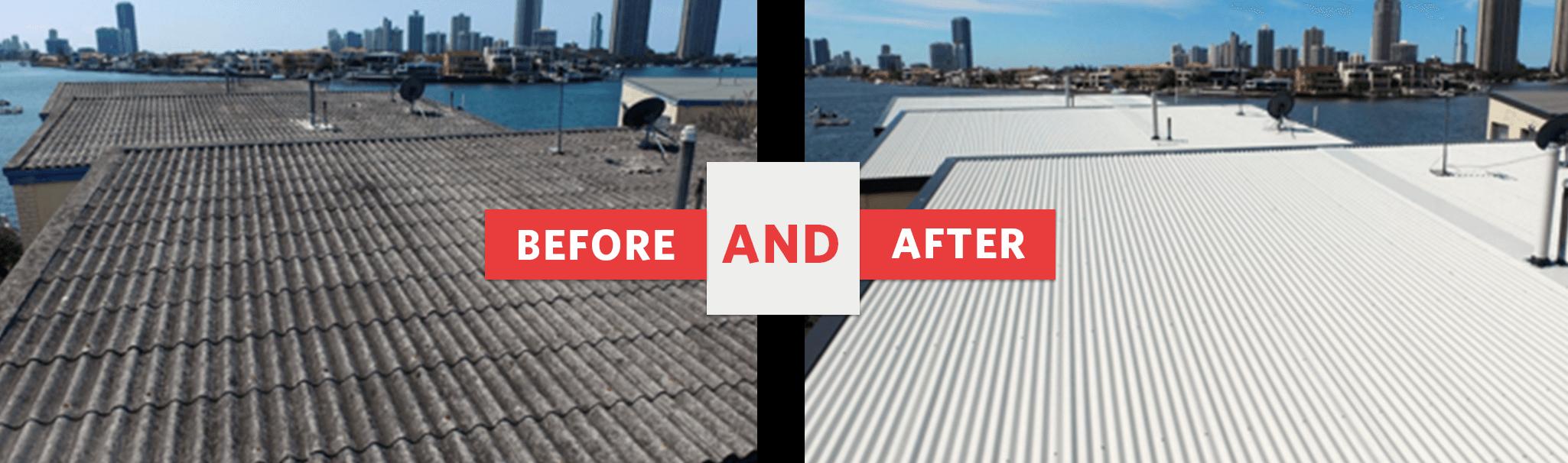Asbestos Roof Removal In Brisbane A M J Metal Roofing
