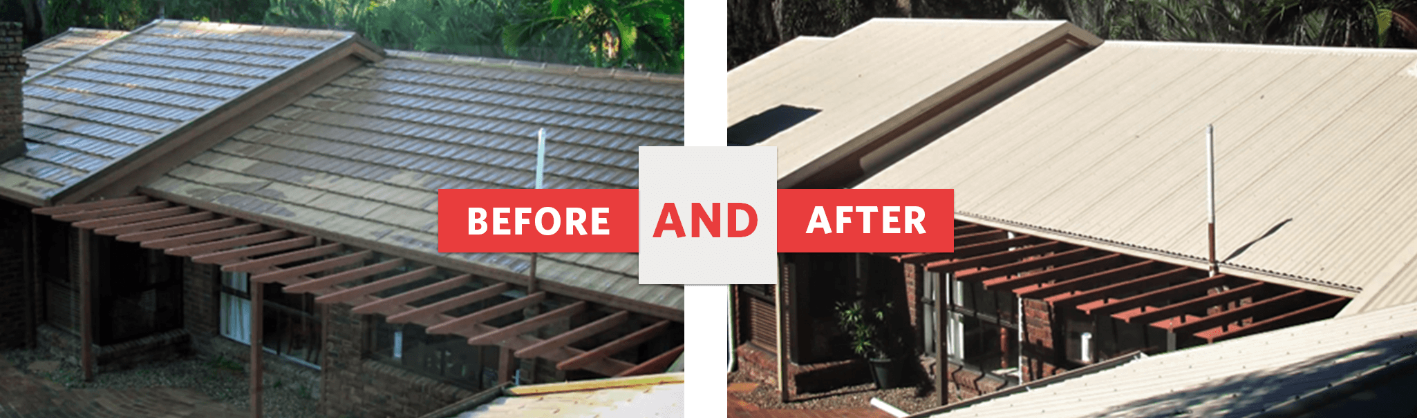 Replacing your Decramastic roof | A M J Metal Roofing